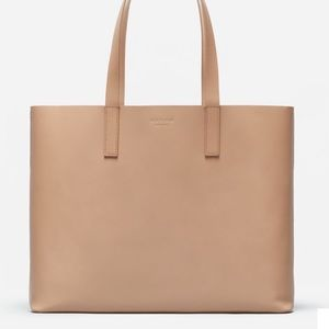 Everlane Day Market Tote; Light Taupe